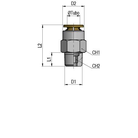 MP11 04 M8x1
