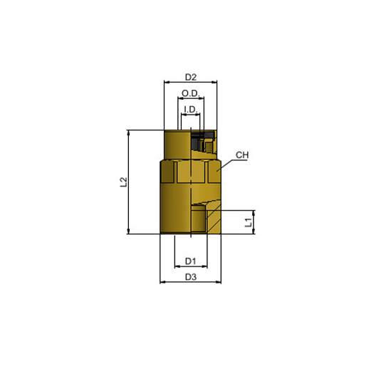 MT13 08 M10x1