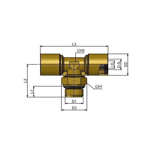 MT21 12 M16x1,5