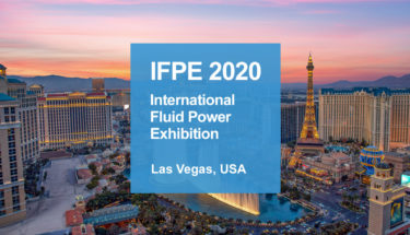 IPFE 2020: international fuid power exhibition.